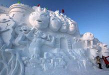 китайский фестиваль снега