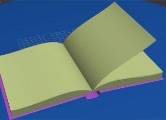 Моделирование перелистывающейся книги в 3Ds max
