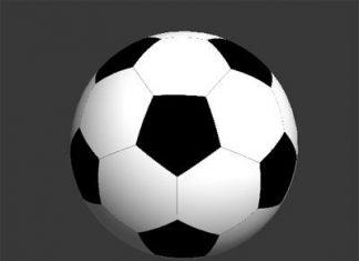 Моделирование футбольного мяча в 3Ds max